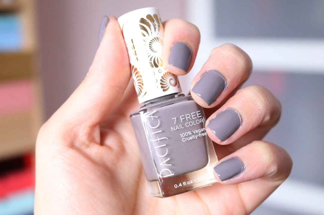 Pacifica Nail Polish in Drift review swatches