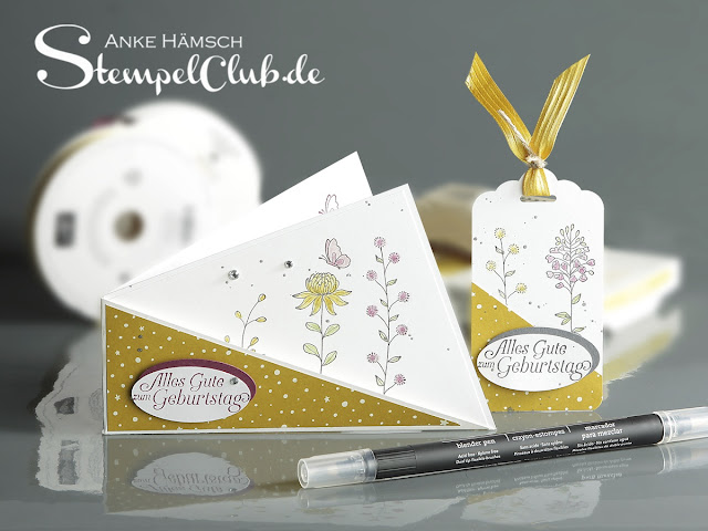 Geburtstagskarte, Stampin up, Workshop, Stempelparty