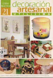 Utilisima Decoracion Artesanal Nro.21
