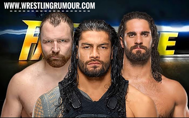 The shield reunion match at Fastlane 2019 ppv (huge update)