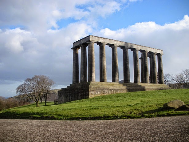 National Monument of Scotland in Edinburgh, Scotland