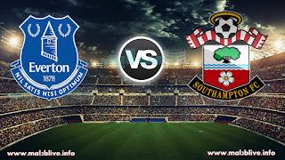 شاهد مباراة ساوثهامتون وإيفرتون Southampton FC vs Everton FC في الدوري الانجليزي بث اونلاين مباشر علي موقع ملعب لايف