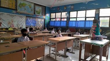 Pembelajaran Tatap Muka Terbatas SDN Gandaria Utara 11 | 30 Agustus 2021