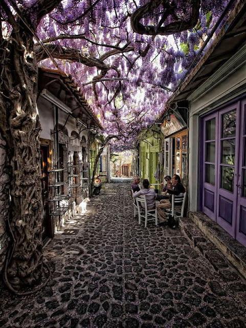 موليفوس ,ليسفوس ,اليونان Molyvos, Lesvos, Greece