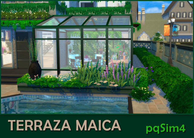 Terraza Maica Detalle 3