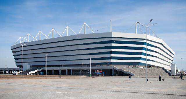 O estádio de Kaliningrado visava consolidar a presença militar russa em área estratégia para um conflito nuclear