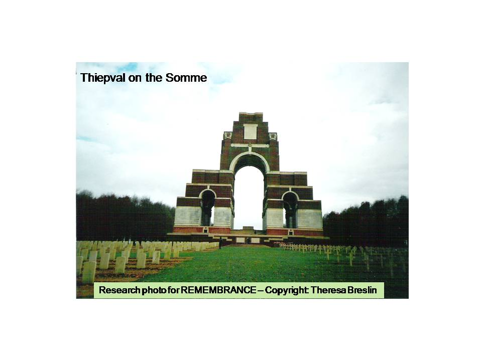 remembrance theresa breslin essay writer
