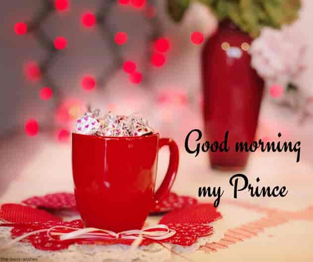 good morning my prince