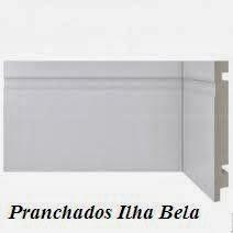 Rodapé de Poliestireno Santa Luzia 480 Branco