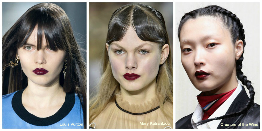 Fall 16 makeup trends dark lips