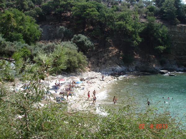Arsanas Beach in Thassos