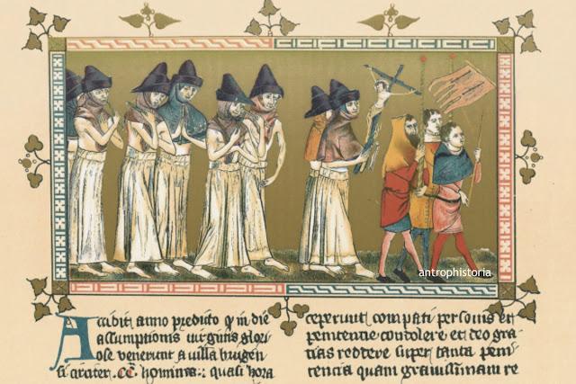 Resultado de imagen de los flagelantes arte historia