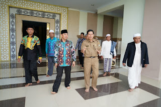 Kemegahan Islamic Center Indramayu, Pukau Wabup Hulu Sungai Selatan