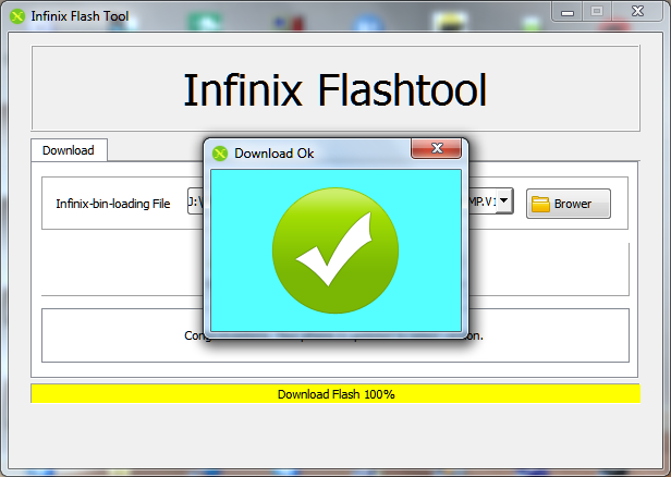 Download Infinix Flash Tool Terbaru