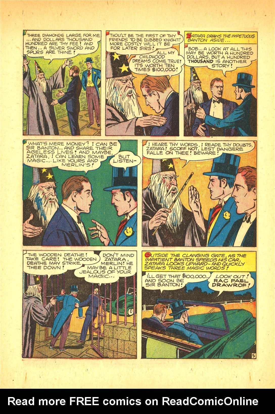 Read online Action Comics (1938) comic -  Issue #72 - 53