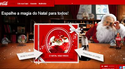 Cartão de natal interativo