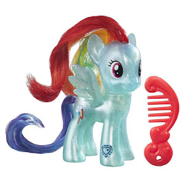 MLP Pearlized Singles Wave 2 Rainbow Dash Brushable Figure