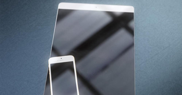 "Concepto-de-iPad-Pro-640x336 The iPad Pro 10.9 ""will be without Home button and will have narrow bezels Technology"