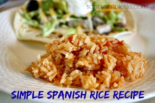 recipe, side dish, rice, Mexican food