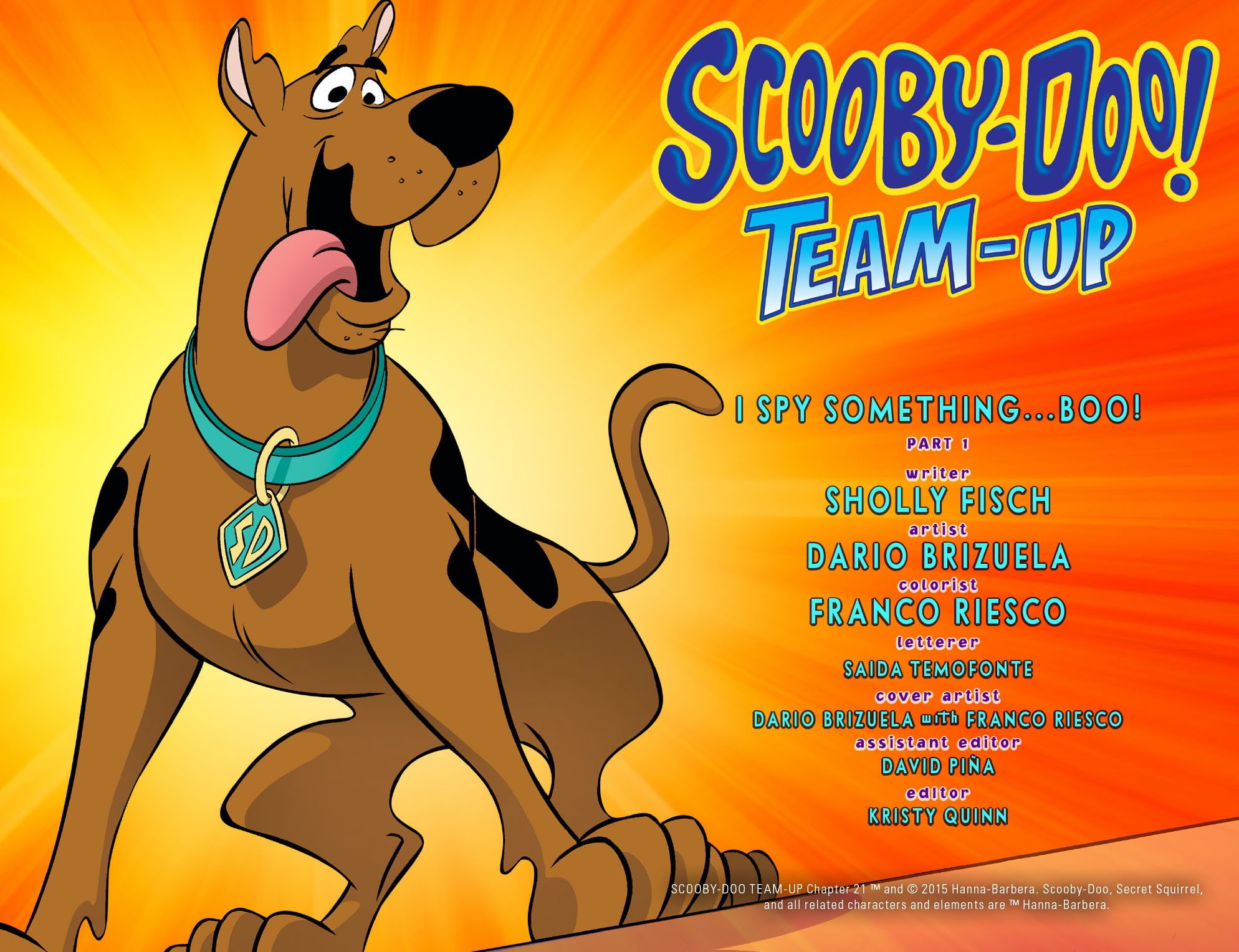 Read online Scooby-Doo! Team-Up comic -  Issue #21 - 2