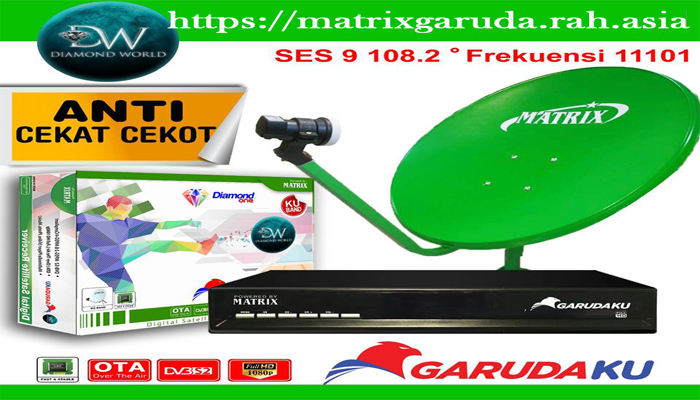Daftar Channel Matrix Garudaku Satelit SES 9