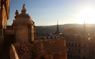 Atadecer entre gárgolas y campanas en Toledo