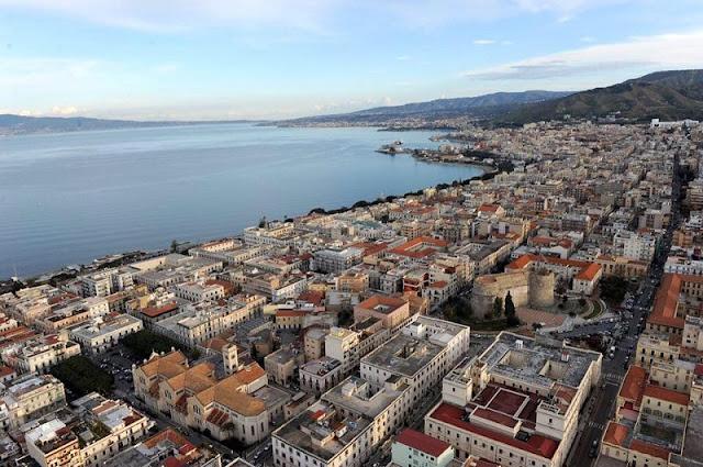 Vista de parte da província de Reggio Calabria