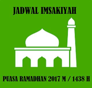 Jadwal Imsakiyah Ramadhan 1438H / 2017 M Legkap Di Seluruh Indonesia