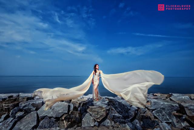 flowy dress sea