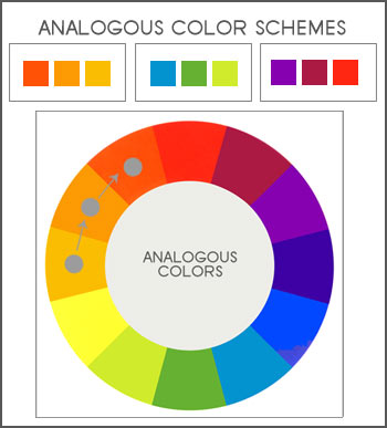 Gerrie Govert Artwork: Analogous Colors