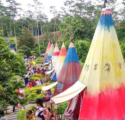 baru ini Kediri kembali memperlihatkan tempat wisata yang tak kalah hits dari kota lainnya yai Kampung Indian Ngancar, Wisata Baru Kediri yang Lagi Ngehits