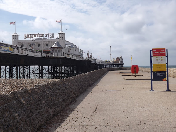 What Cat & John Did: Brighton Pier
