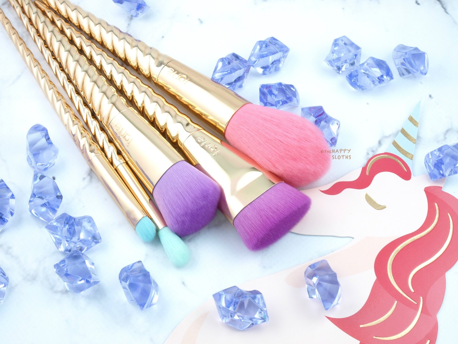 Tarte Summer 2017 Magic Wands Brush Set: Review and Swatches