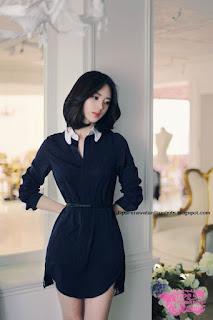 model rambut wanita korea elegan