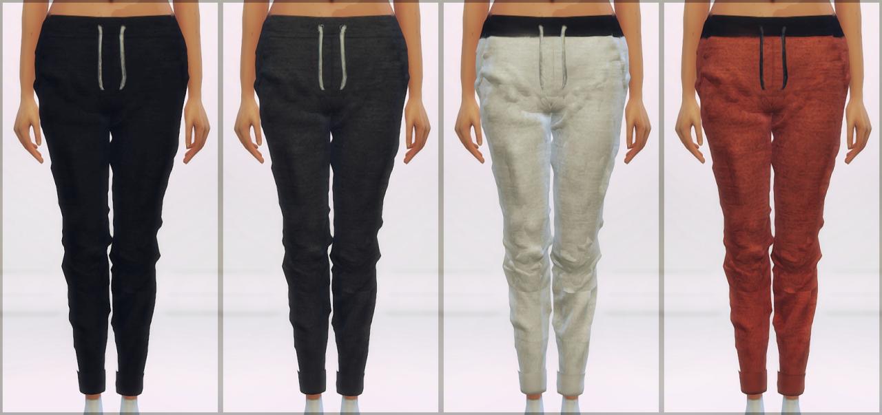 baggy skinny sweatpants