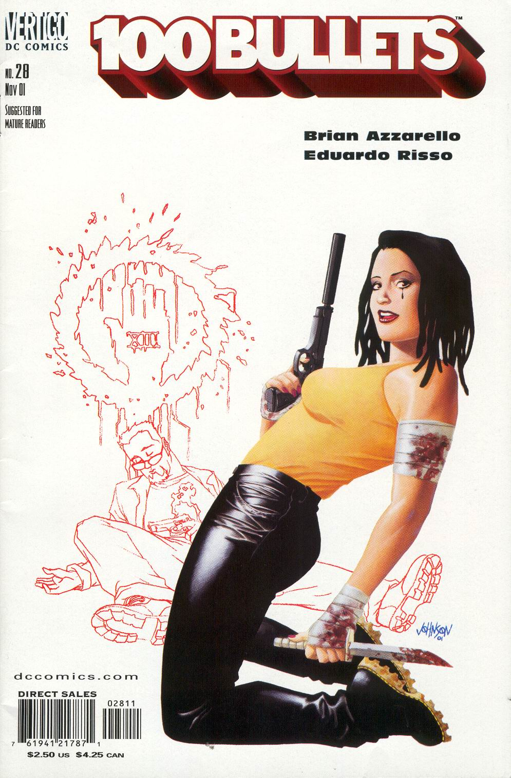 Read online 100 Bullets comic -  Issue #28 - 2