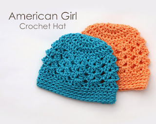 http://littleabbeepatterns.blogspot.com/2014/03/tutorial-american-girl-crochet-hat.html
