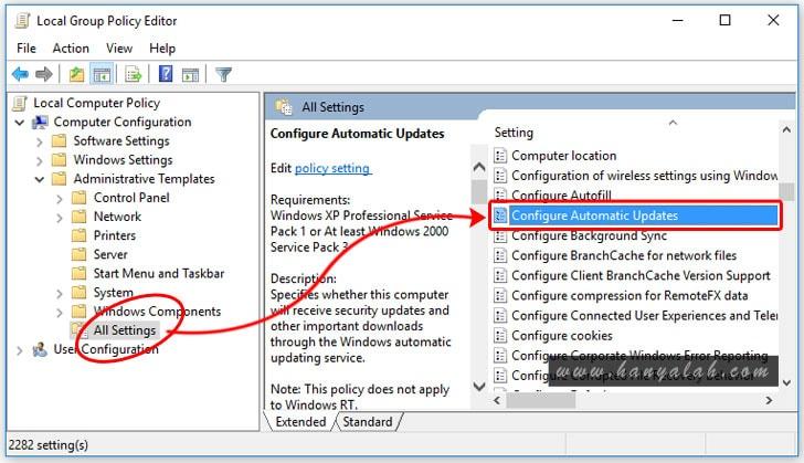 Tips Mudah Mematikan Fitur Auto Update Windows 10