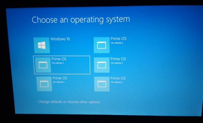 Cara Mengatasi Multiboot PC Error / Banyak Pilihan Tidak Jelas