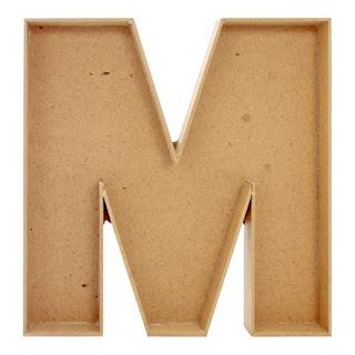 Materiales para elaborar el macetero con forma de letra