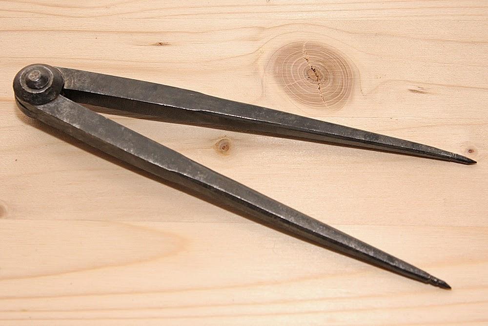 Pulizia restauro del ferro con elettrolisi guida vecchio compasso antico