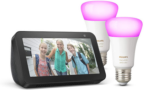 Echo Show 5 + Philips Hue White & Color