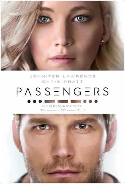 Tráiler y póster oficial español de 'Passengers' con Chris Pratt y Jennifer Lawrence