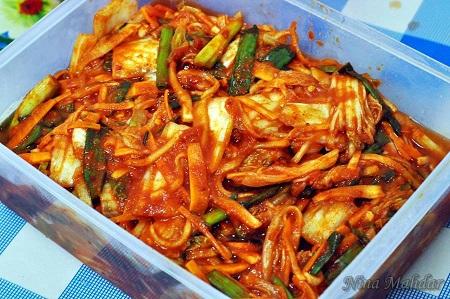 Cara Buat Kimchi
