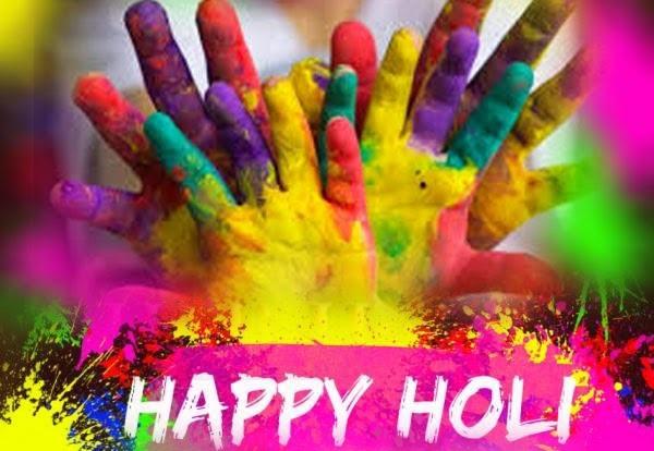 happy Holi image 2017