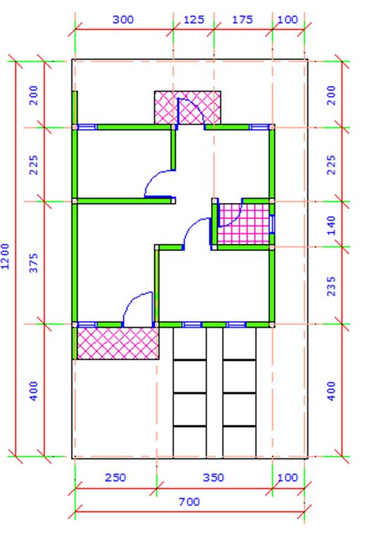 Desain Rumah Type 3684  Cymblots Notes