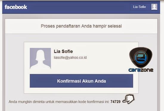 Cara Membuat Daftar Facebook Terbaru