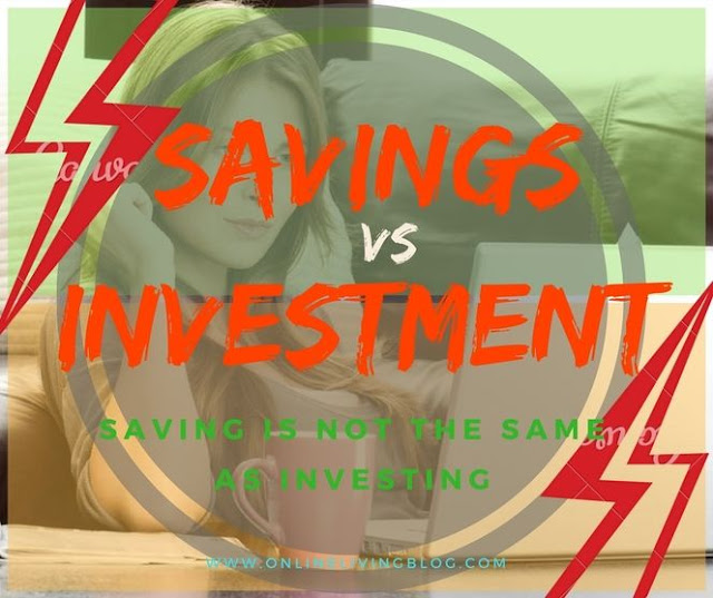Savings vs Investment: Saving is Not the Same as Investing