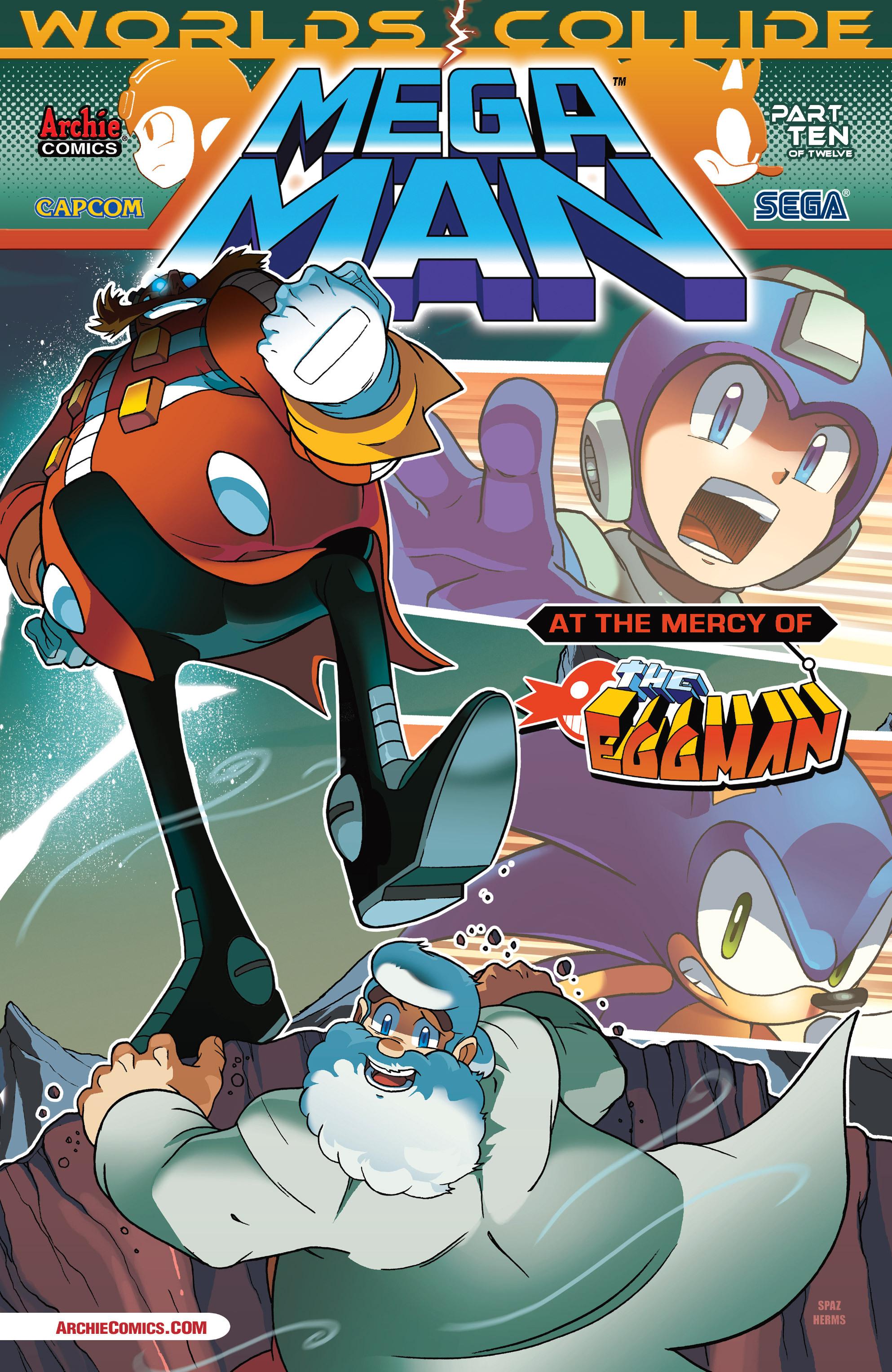 Read online Sonic Mega Man Worlds Collide comic -  Issue # Vol 3 - 48