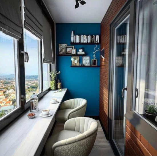 transformasi balkon sempit menjadi ruang fungsional